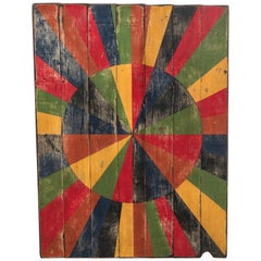 Abstract Board Circle Starburst