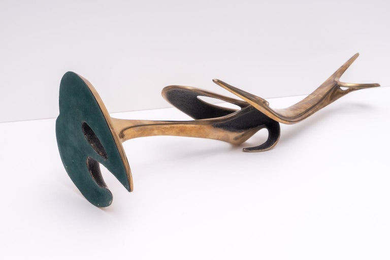 American Abstract Bronze Sculpture For Sale