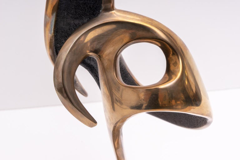 Abstract Bronze Sculpture In Good Condition For Sale In West Palm Beach, FL