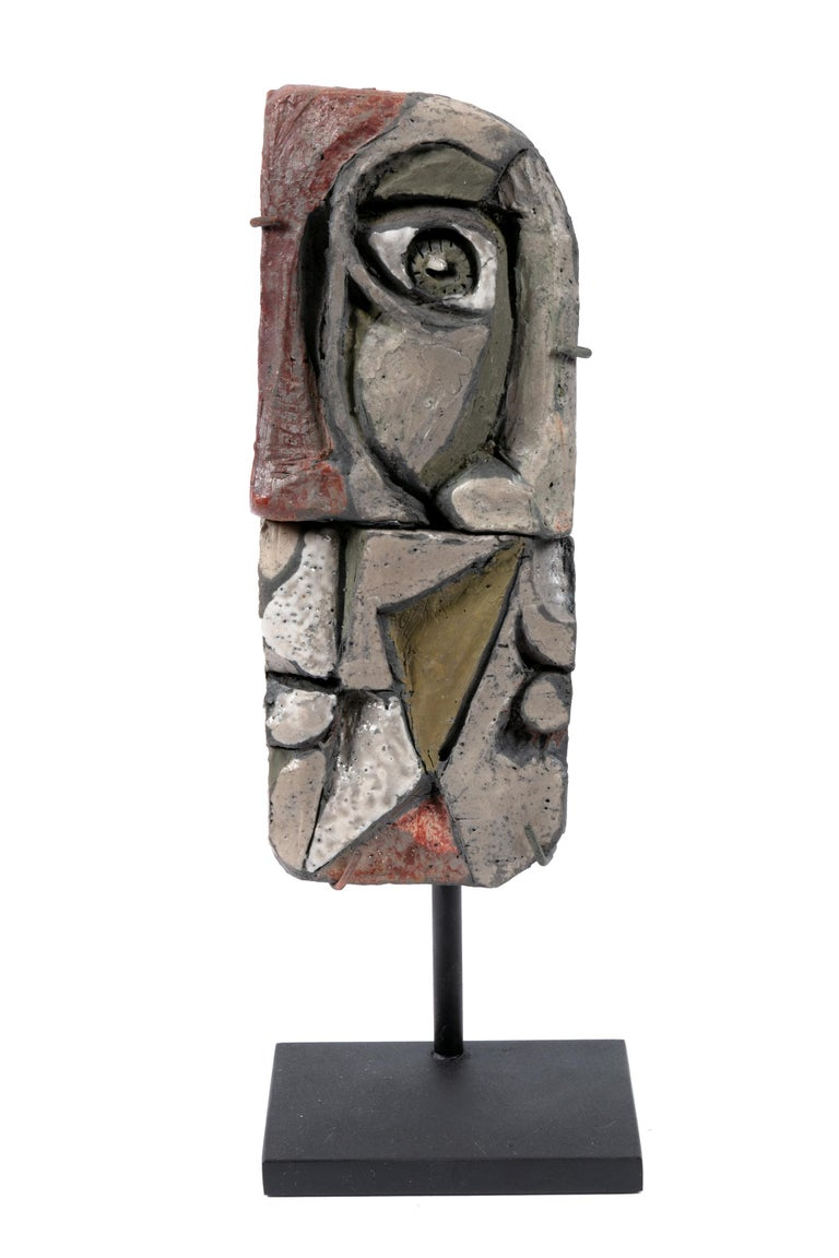 Abstract Ceramic Sculptures, France 1990s For Sale 1
