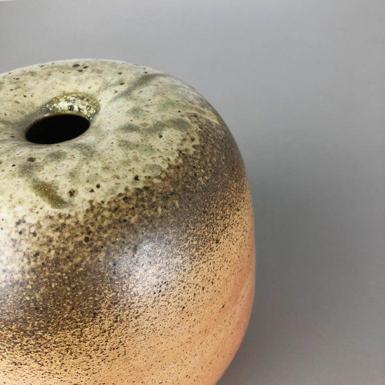 Abstract Ceramic Studio Pottery Vase Object Horst Kerstan, Kandern Germany 1980s 6