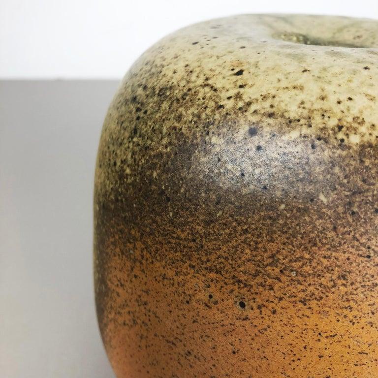 Abstract Ceramic Studio Pottery Vase Object Horst Kerstan, Kandern Germany 1980s 2