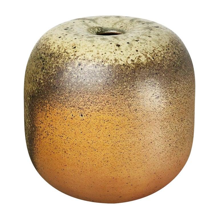 Abstract Ceramic Studio Pottery Vase Object Horst Kerstan, Kandern Germany 1980s