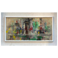 Abstract Cityscape on Board