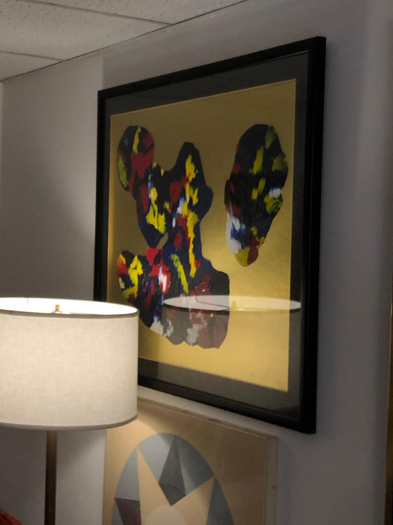 Belgian Abstract Composition by Phillippe Decelle For Sale