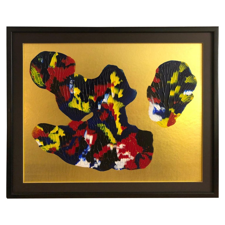 Abstract Composition by Phillippe Decelle For Sale