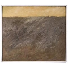 Abstract Composition by Teddy Millington Drake, Oil on Canvas Signed 1968