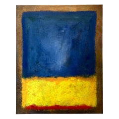 Abstract Contemporary Painting by Artist Kenn Orphan Signed and Dated 1997
