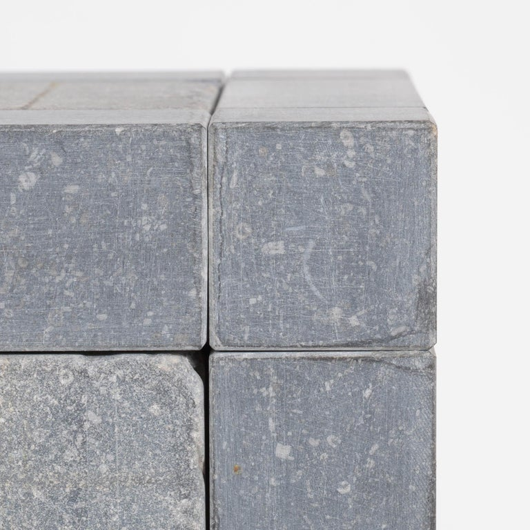 Abstract Cube Sculptures by Jef Mouton For Sale 6