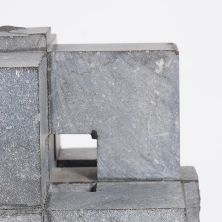 Abstract Cube Sculptures by Jef Mouton For Sale 7