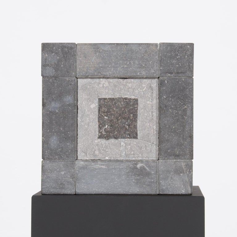 Abstract Cube Sculptures by Jef Mouton In Good Condition For Sale In Vlimmeren, BE