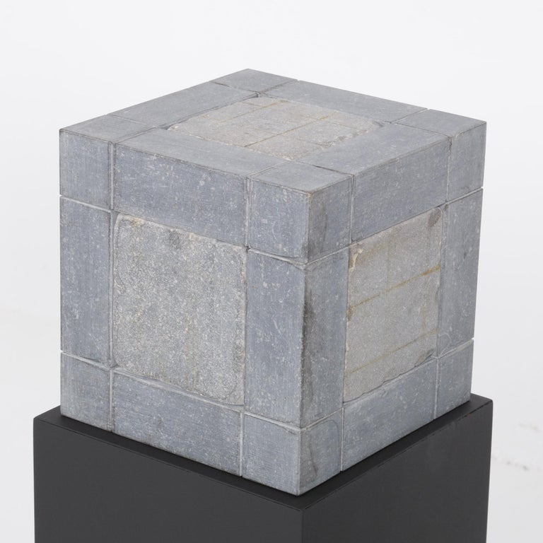 Abstract Cube Sculptures by Jef Mouton For Sale 2