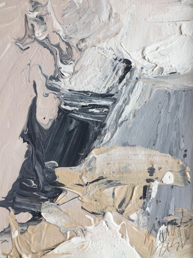 Marcus Sisler is an abstract expressionist painter based in Chicago, Illinois. His work embodies a tumultuous emotional struggle - utilizing the process of creation as a therapeutic practice. This work in particular, 'Affective Tendency', strays