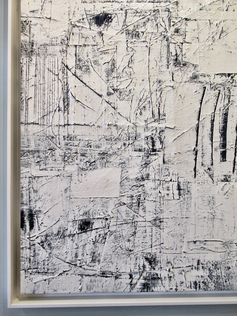 American Abstract Expressionist Oil on Canvas, Renato Freitas For Sale