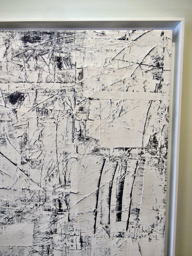 Abstract Expressionist Oil on Canvas, Renato Freitas In Excellent Condition For Sale In Hollywood, FL