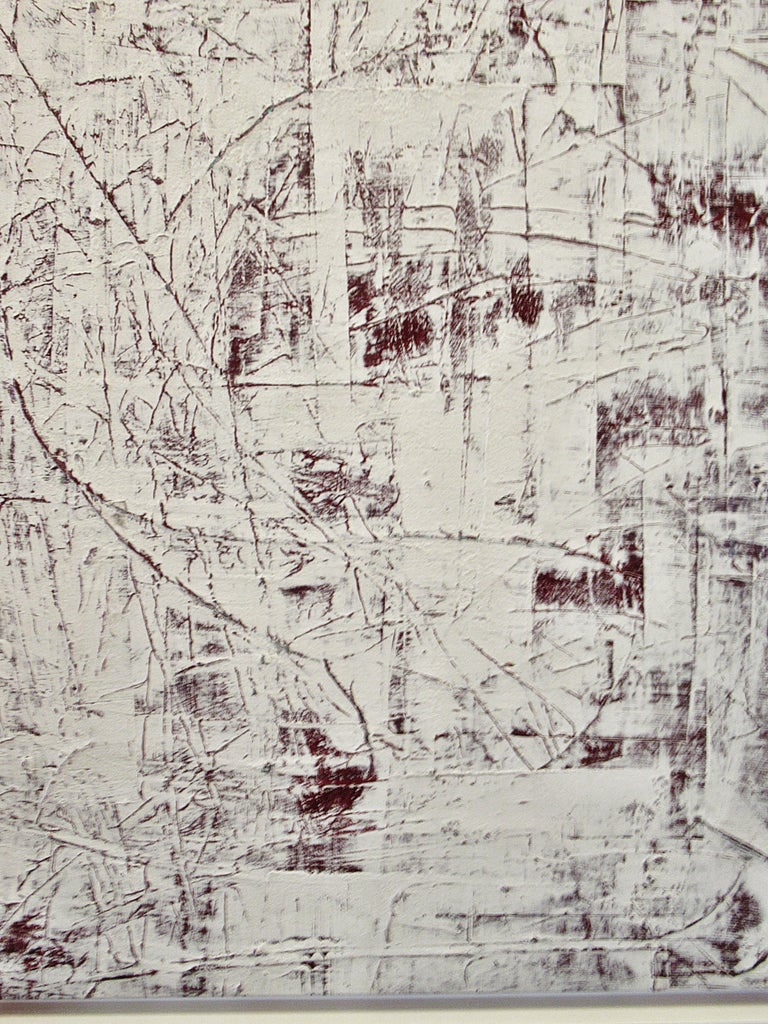 Abstract Expressionist Oil on Canvas, Renato Freitas For Sale 3
