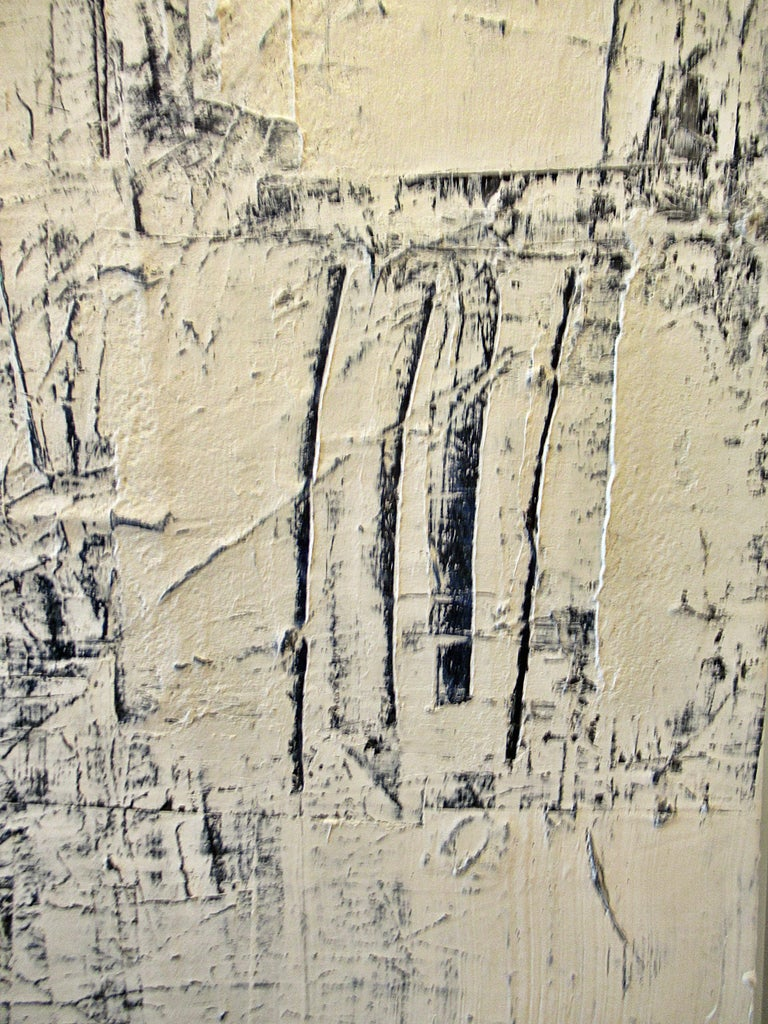 Abstract Expressionist Oil on Canvas, Renato Freitas For Sale 4