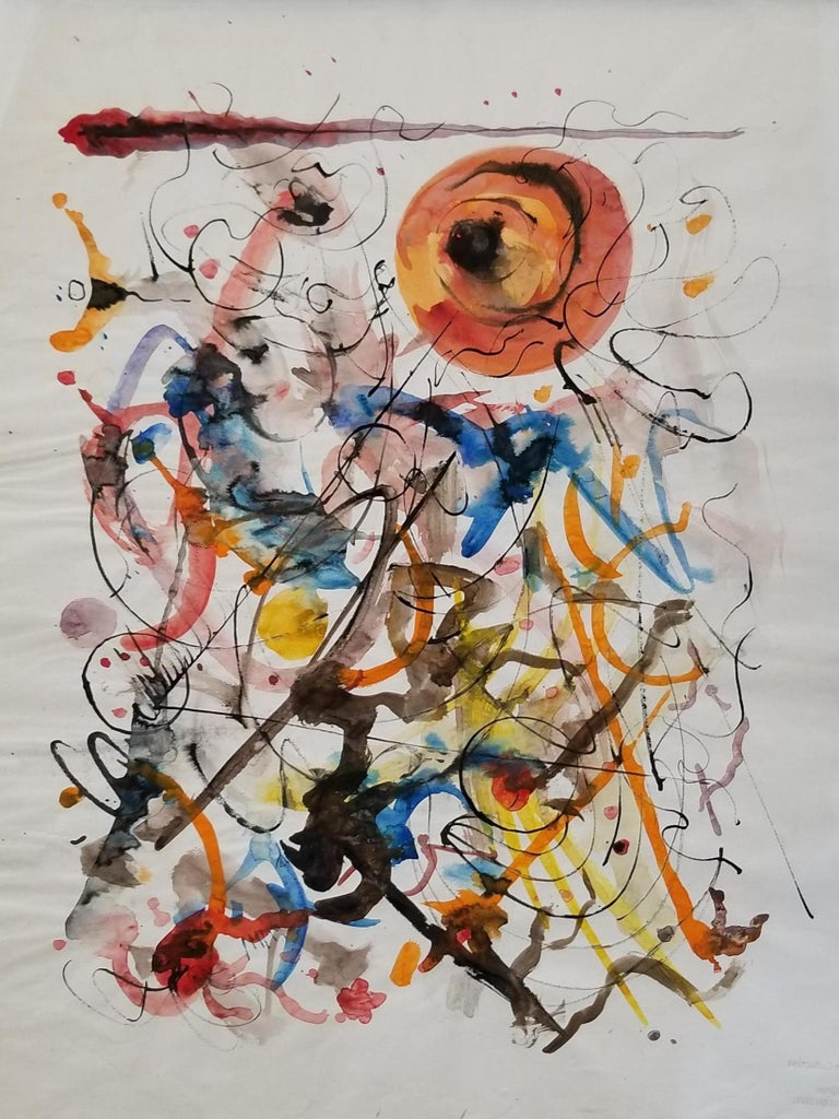Abstract Expressionist Painting by Hendrik Grise, California For Sale 2