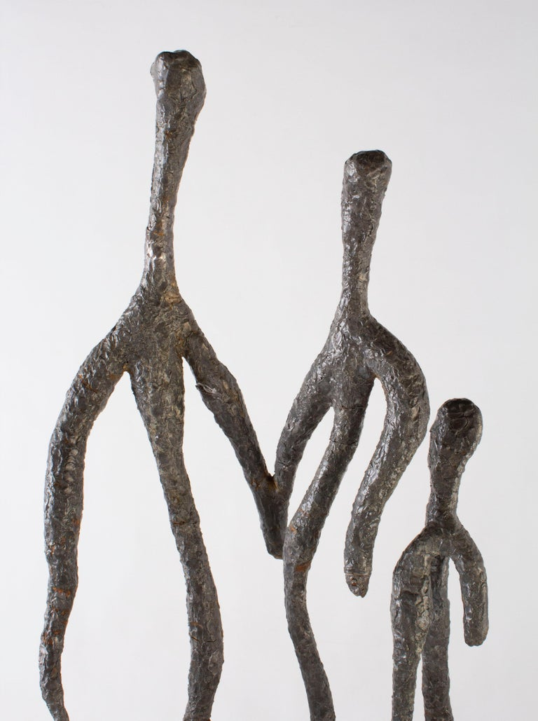 Modern Abstract Family Sculpture For Sale