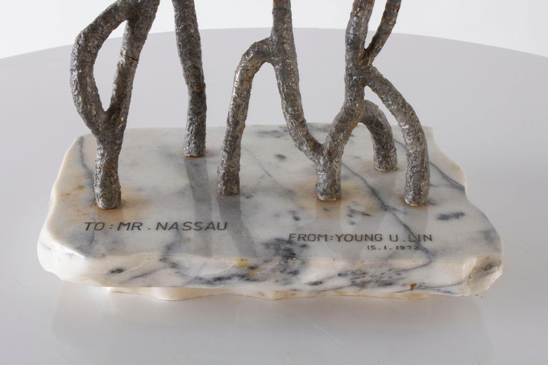 North American Abstract Family Sculpture For Sale