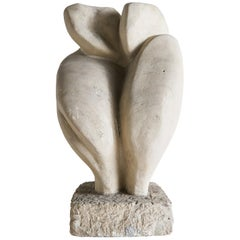 Abstract Figural Stone Sculpture