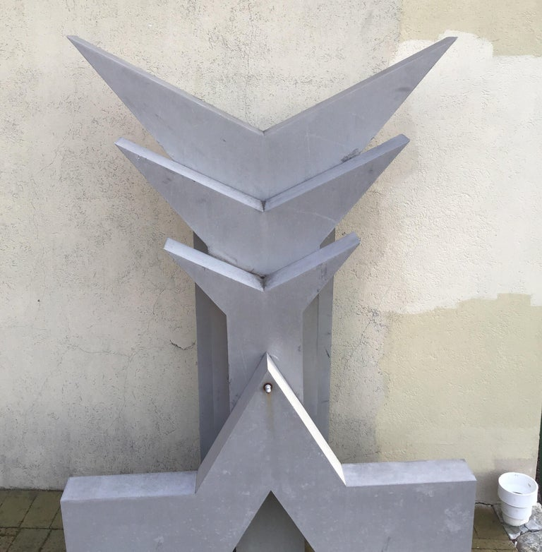 Abstract Garden Sculpture For Sale 3