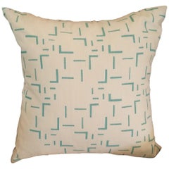 Abstract Geometric Printed Pillow