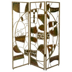 Abstract Iron Screen