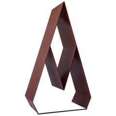 Abstract Italian Midcentury Steel Sculpture by Lino Sabattini, 1970s