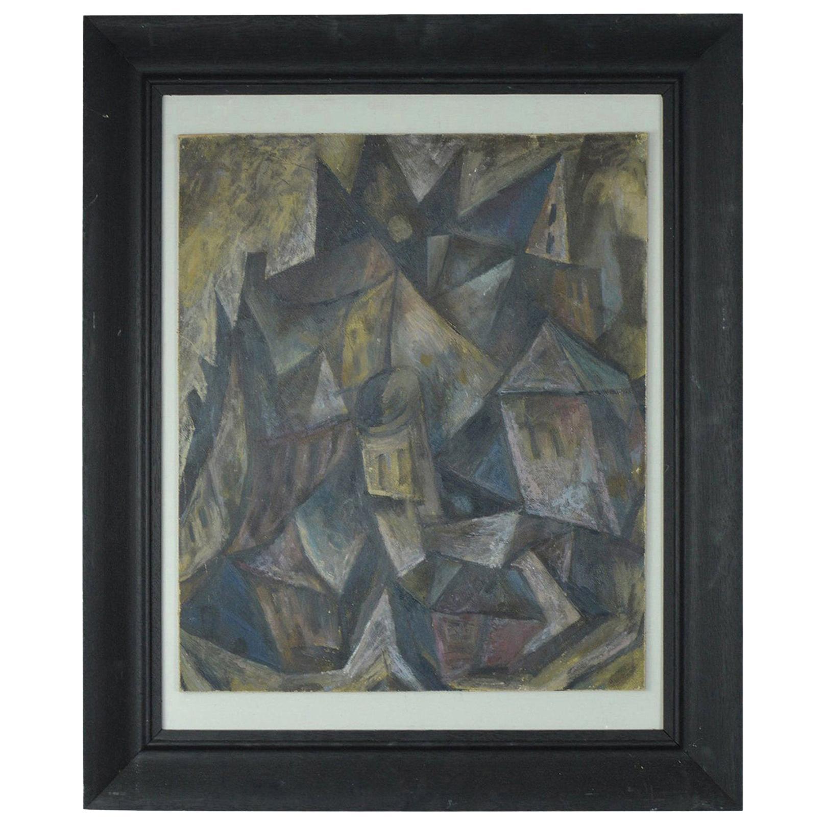 Abstract Landscape, David Lord, circa 1960