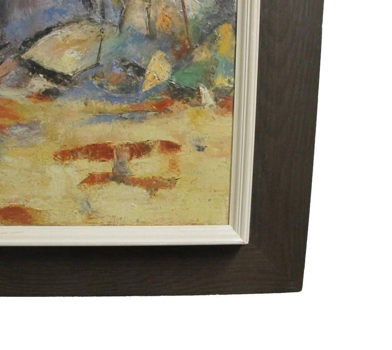 Abstract Landscape Painting, California Artist 20th Century For Sale 1