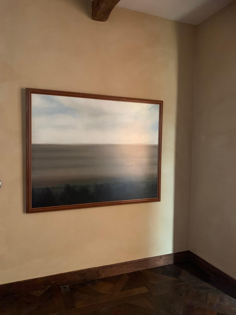 Painted Abstract Landscape Painting For Sale