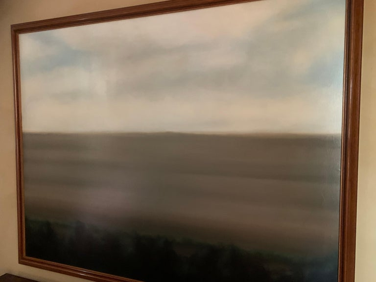 Abstract Landscape Painting In Good Condition For Sale In Vosselaar, BE