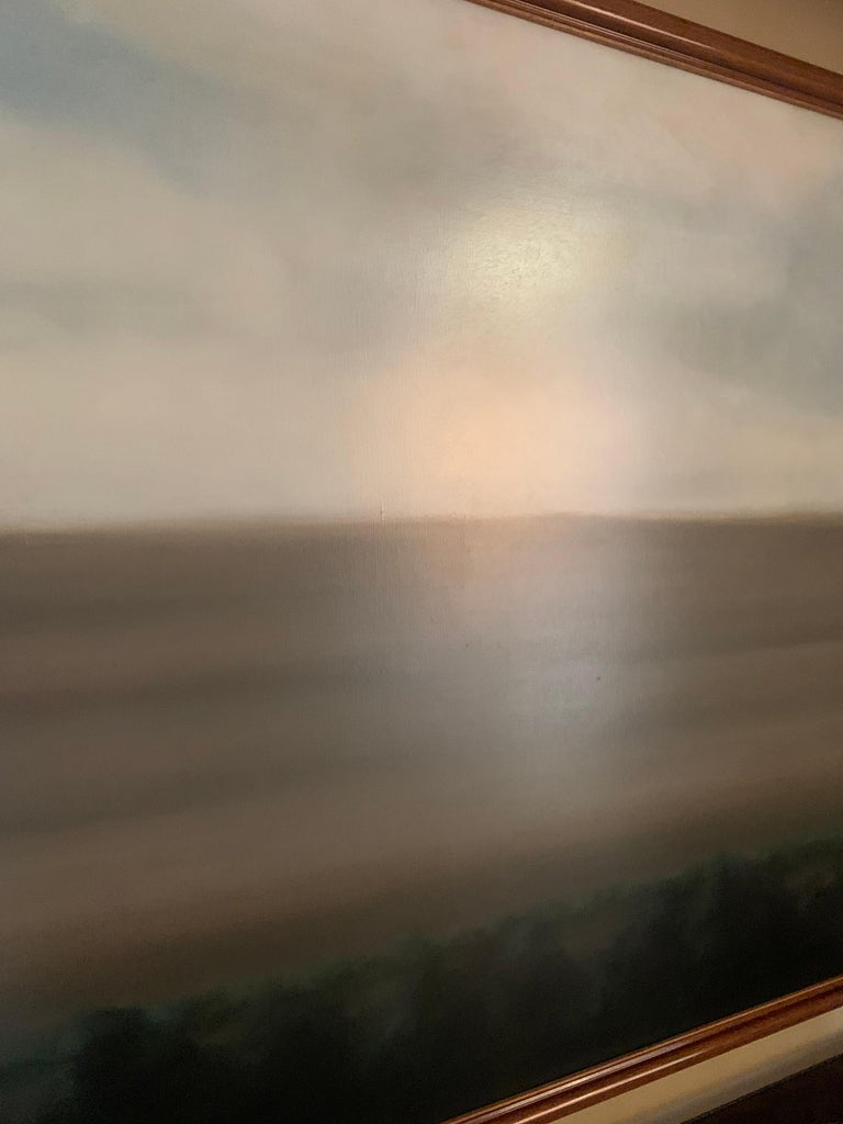 Late 20th Century Abstract Landscape Painting For Sale
