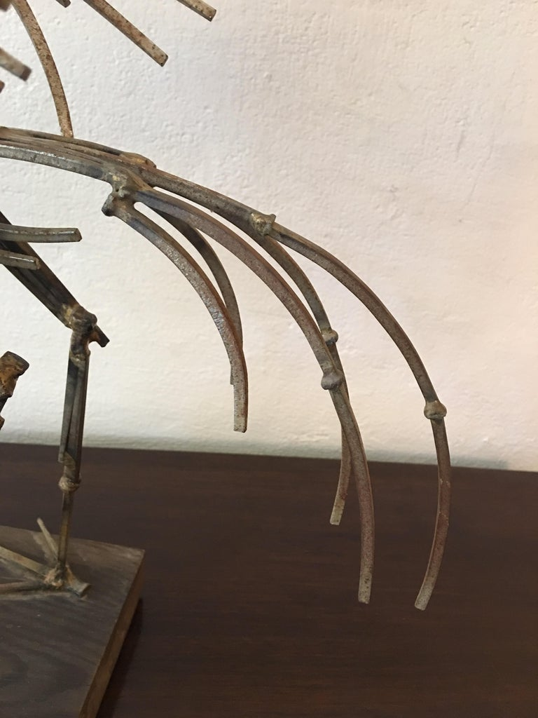 Abstract Large Bird Nail Sculpture For Sale 1