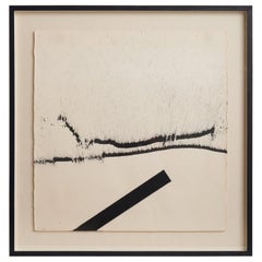Abstract Lithograph by Pierre Fichet