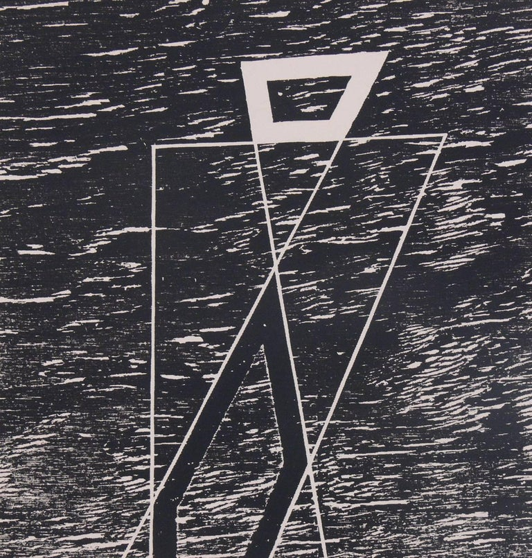 Mid-Century Modern Abstract Lithographs by Josef Albers from Formulation and Articulation For Sale