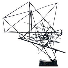 Abstract Metal Sculpture, circa 1960s