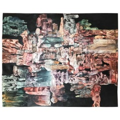 Abstract Mineral Monoprint