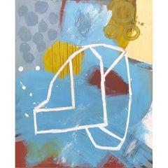Abstract Mixed-Media Painting by Artist John Luckett