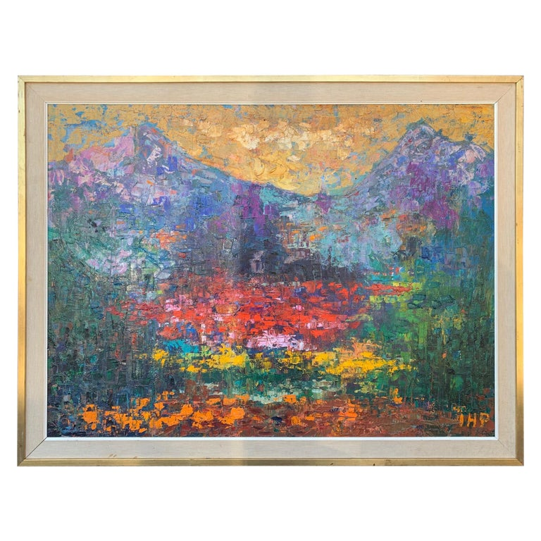 Abstract Mountain Landscape by IHP For Sale
