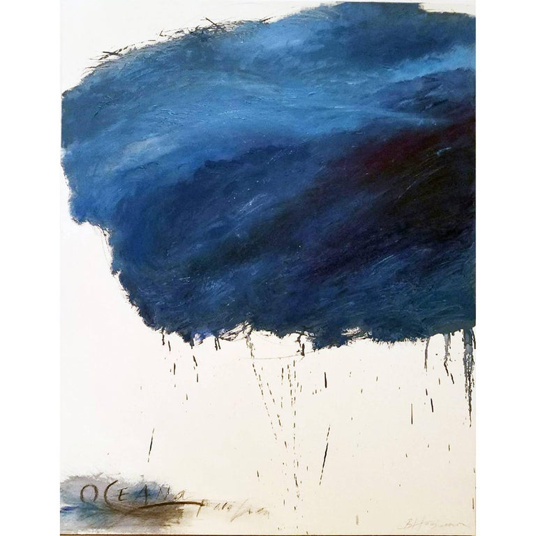 Abstract Oil Painting Titled Oceana by Brian Hagiwara