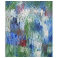 Abstract Painting, Agner, Hans Peter, Cascade of Colors, 1989