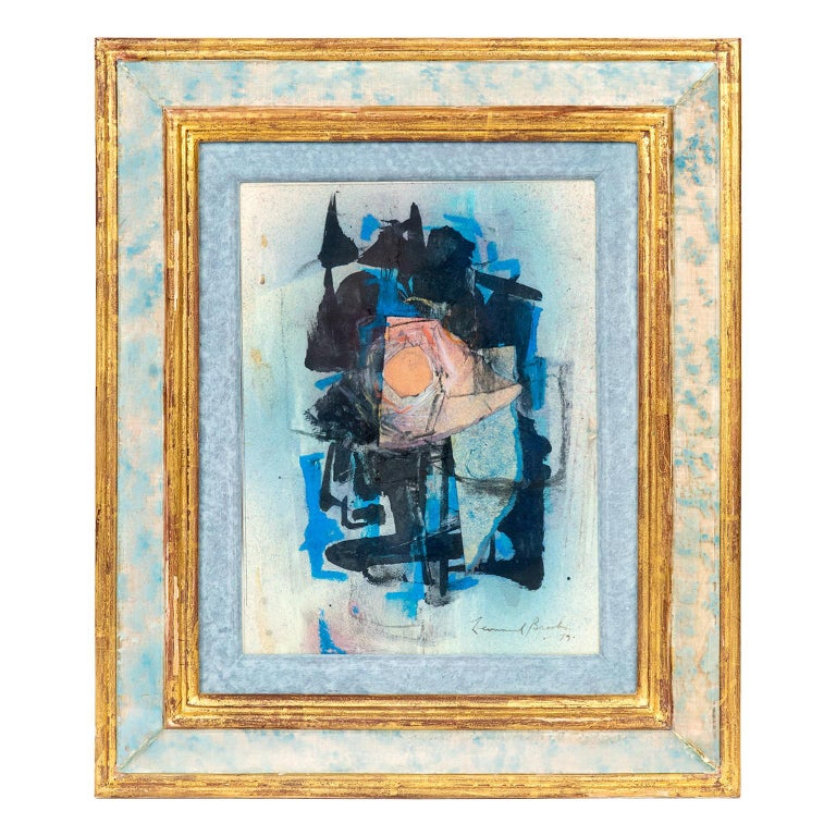 Abstract Painting by Canadian Painter Frank Leonard Brooks For Sale