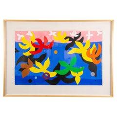 Abstract Painting by David Solomon, California, USA, circa 1987