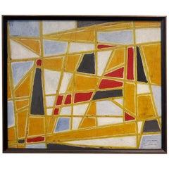 Abstract Painting by Ecole De Paris Painter Gabriel Zendel