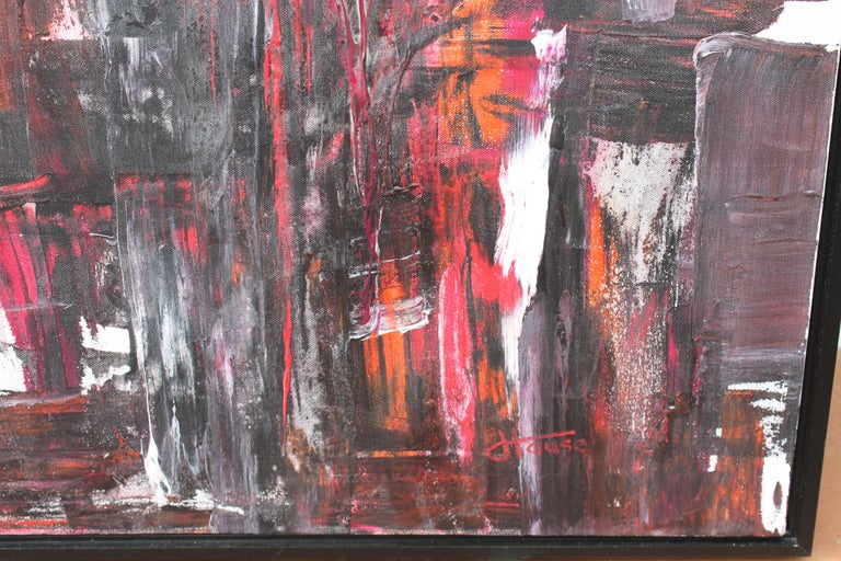 American Abstract Painting by Jeff House For Sale