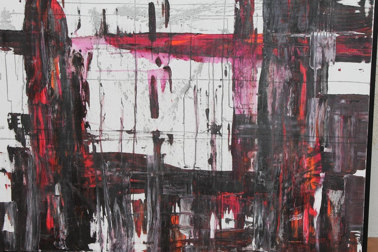 Abstract Painting by Jeff House In Excellent Condition For Sale In Palm Springs, CA