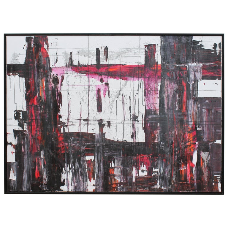 Abstract Painting by Jeff House For Sale