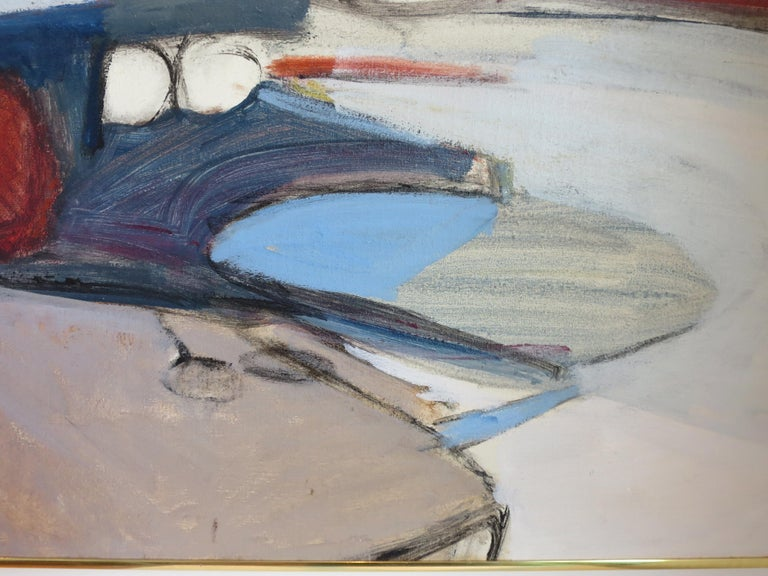 American Abstract Painting by Jimmy Leuders For Sale